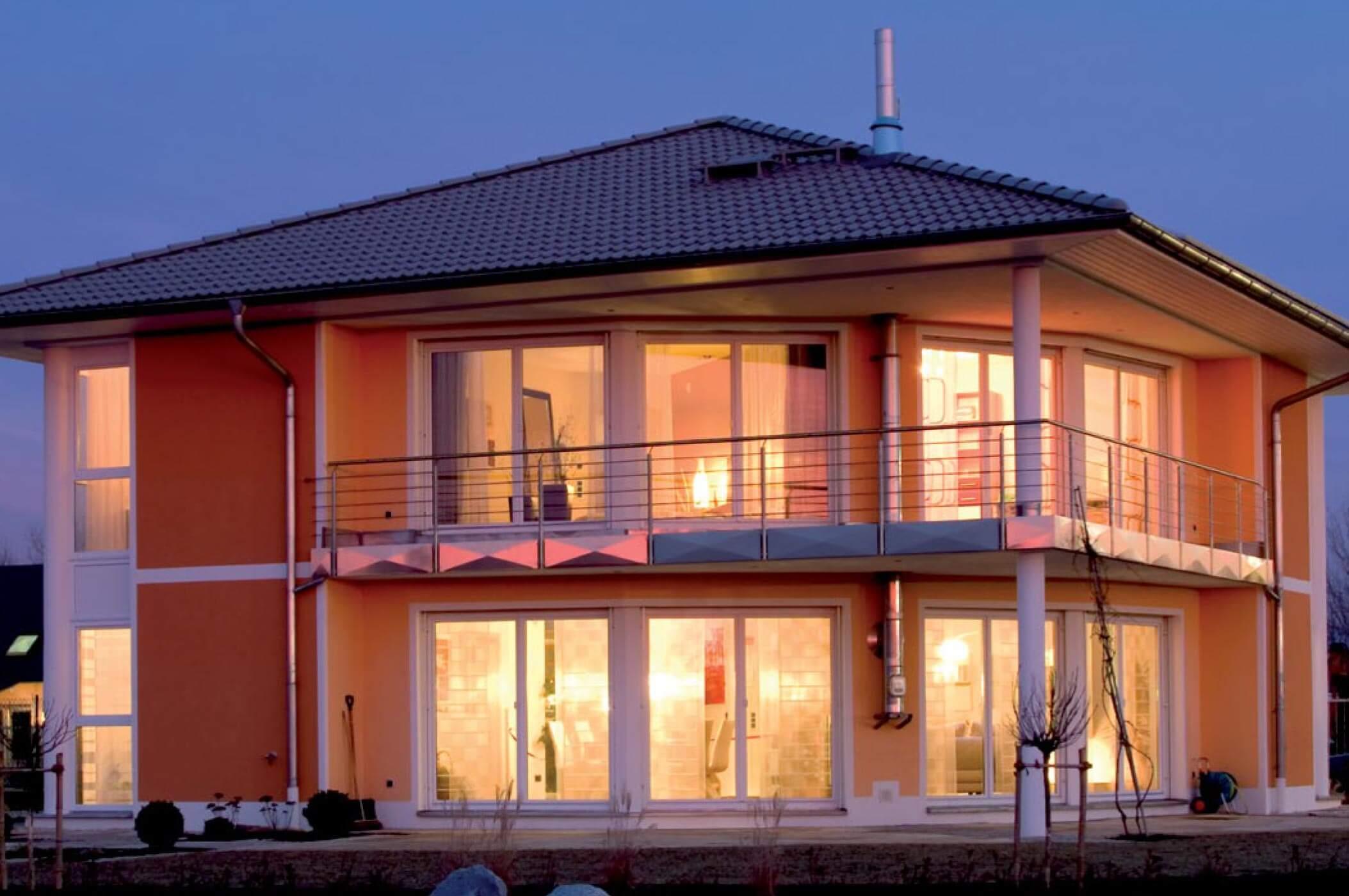 Musterhaus Villa Nova Büttner Massivhaus