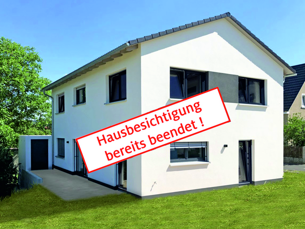 Hausbesichtigung Am 07 07 Buttner Massivhaus
